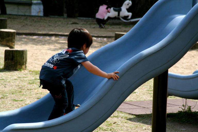 Up or Down the Slide?