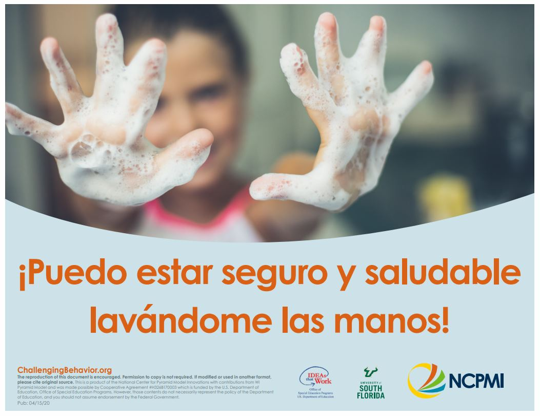 handwashing spanish