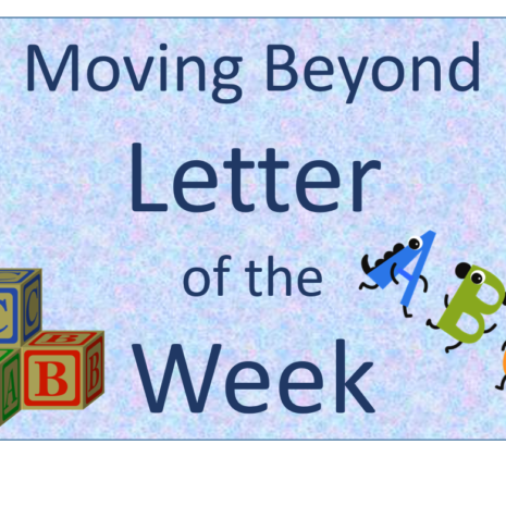Letter of the Week no border