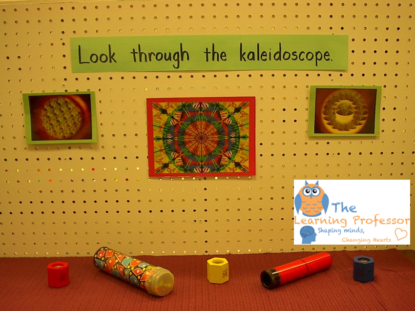kaleidoscope and prism