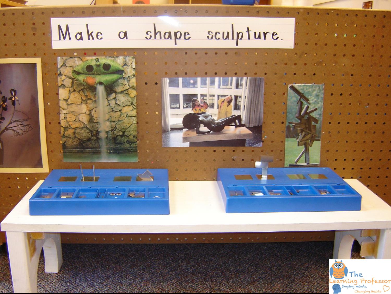 shape sculpture
