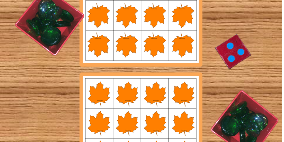 Leaf Grid Game Photo