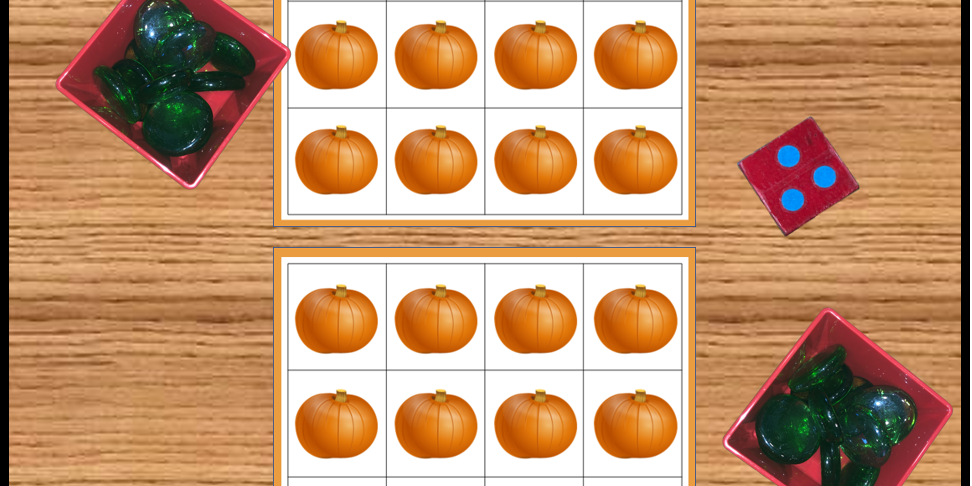 Pumpkin Grid Game Photo